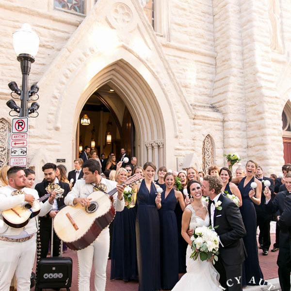 Katie & Jason - Wedding Reception at The Omni Hotel