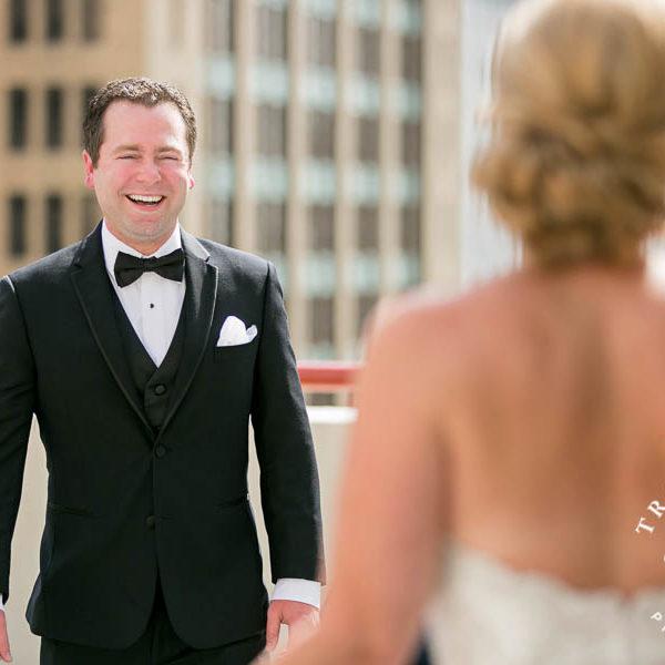 Nicole & Kyle - Wedding Ceremony at Perkins Chapel