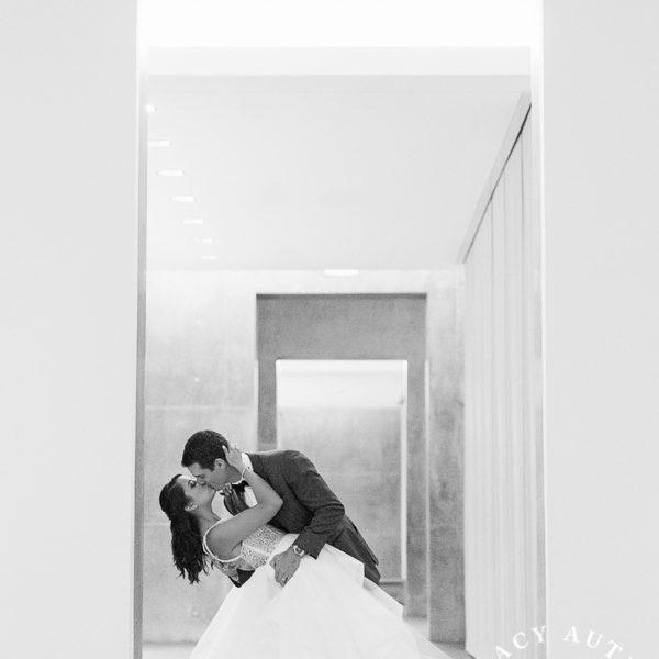 Megan & Dylan - Wedding Reception at The Modern Art Museum