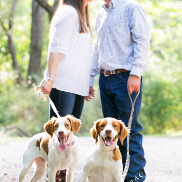 Shelby & Whilden - Engagement Session in Trinity Park & Botanic Gardens