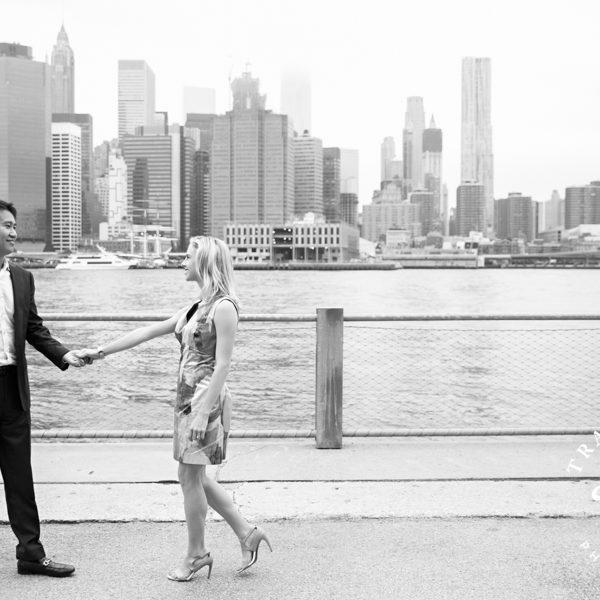 Allison & Allen - New York City Engagement Session
