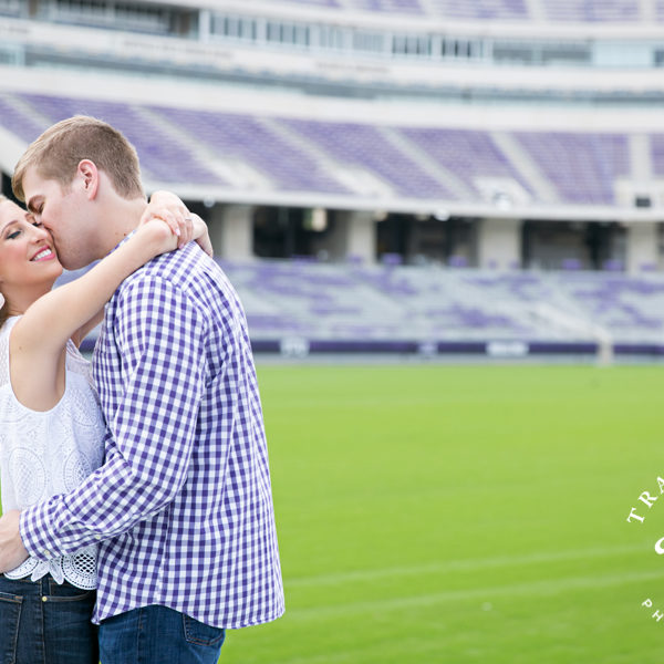 Kyndall & Cole - Engagement Photos at Botanic Gardens at TCU Campus