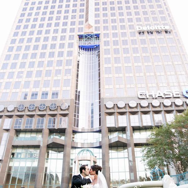 Caitlin & Jordan - Wedding Ceremony at the Sky Lobby