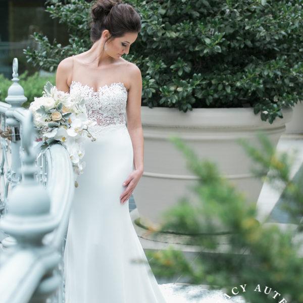 Caitlin - Bridal Portraits at The Crescent Hotel