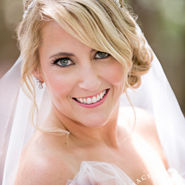 Nicole - Bridal Portrait at Dallas Arboretum
