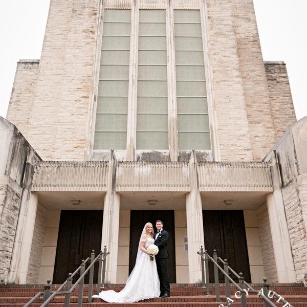 Abbey & Andrew - Wedding Ceremony at University Baptist