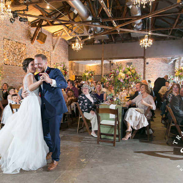 Annie & Josh - Wedding Reception at MOPAC