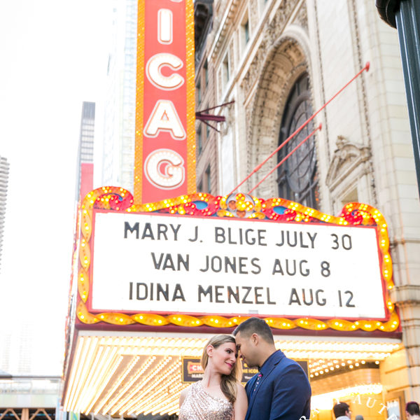Ashlea & Mark - Engagement Portraits in Chicago