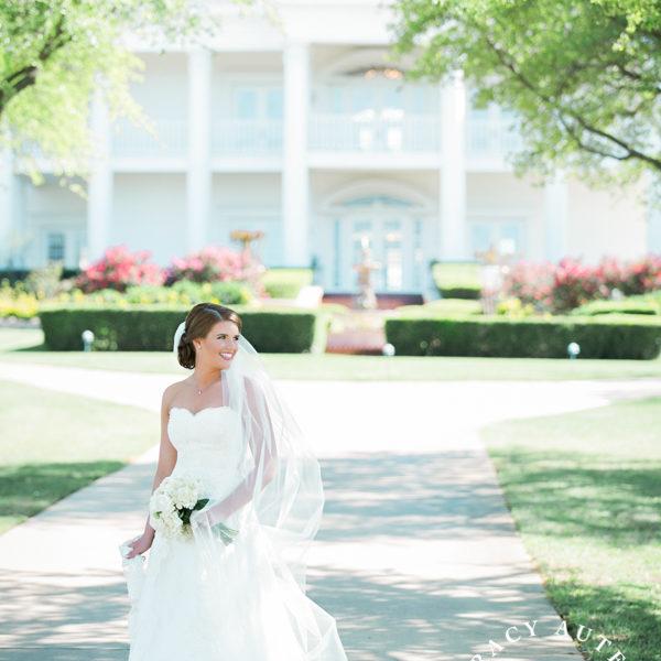 Shelby - Bridal Portrait at Lonestar Mansion