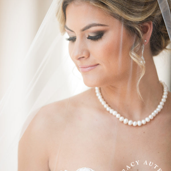 Brooklyn - Bridal Portrait at Bass Hall