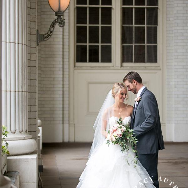 Amy & Bryce - Wedding Portraits at Holy Trinity Catholic & Union Station