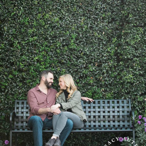 Christine & Andrew - Engagement Photos at Dallas Arboretum & White Rock Lake