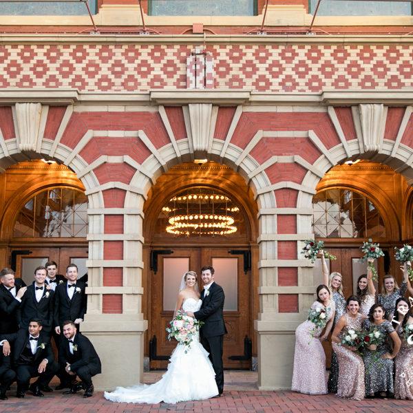 Katherine & Mason - Wedding Portraits & Reception at Ashton Depot