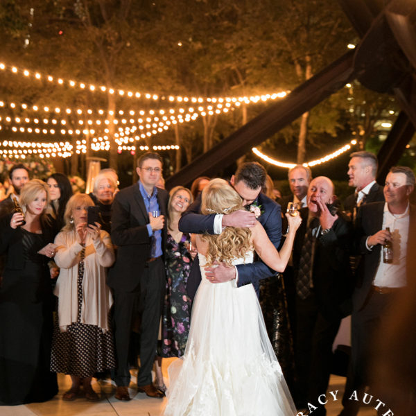 Christine & Andrew - Wedding Reception at Nasher Sculpture Center