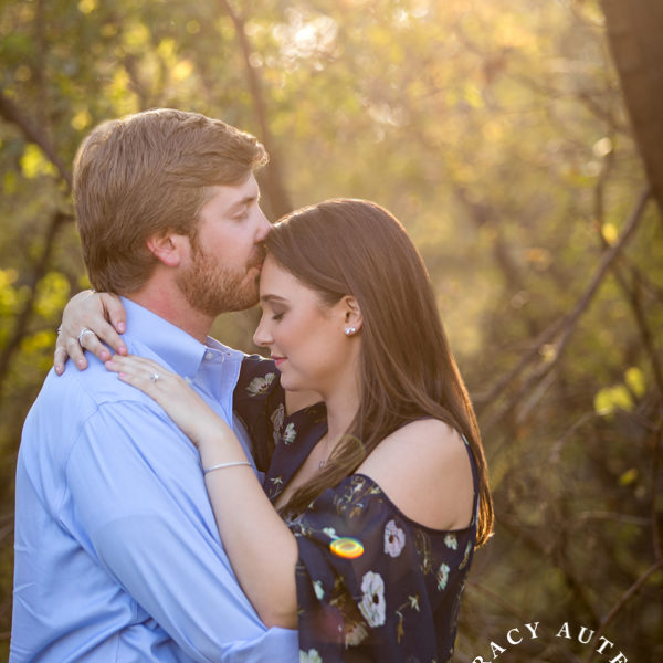 Amy & Casey - Engagement Portraits at Trinity Park & Stockyards