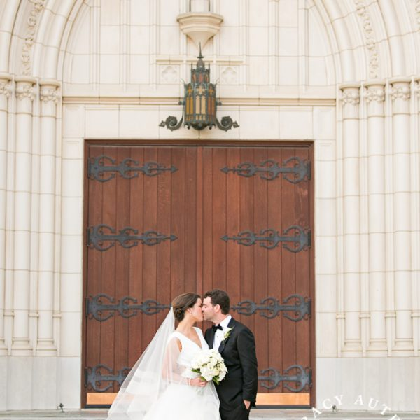 Laura Leigh & Toby - Wedding Portraits at First United Methodist Church