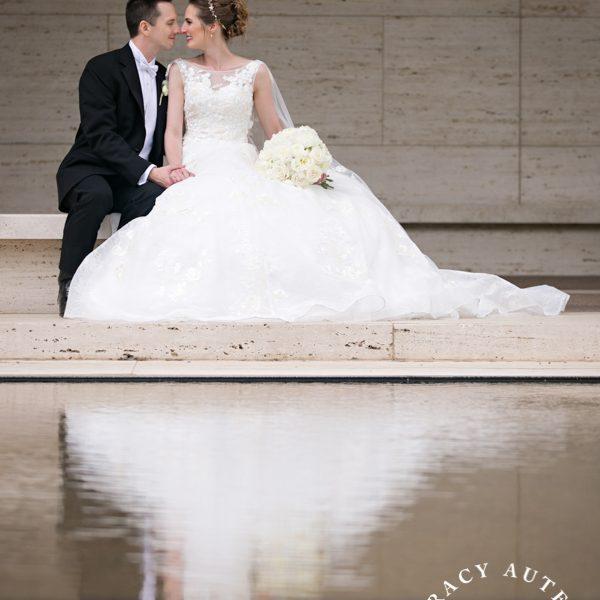 Christy & Mark - Wedding Portraits at St Patricks, Art Museum & Stockyards