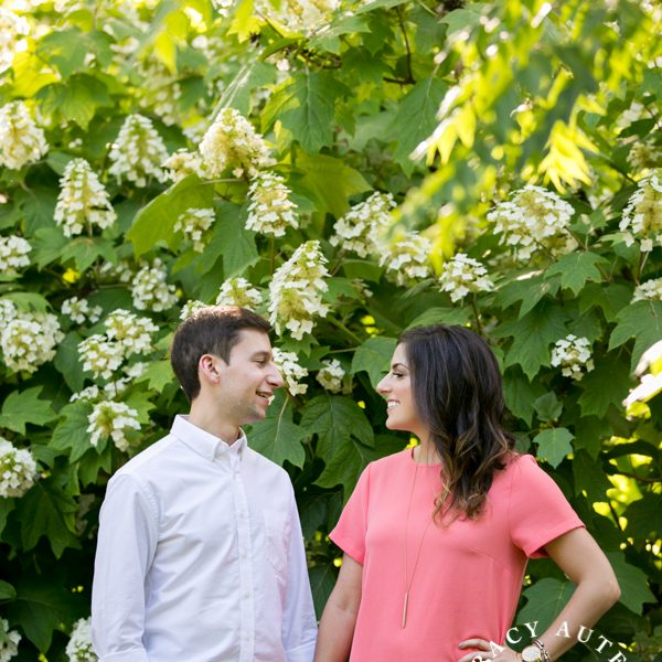 Sara & Brock - Engagement Session at Botanic Gardens & Art Museums
