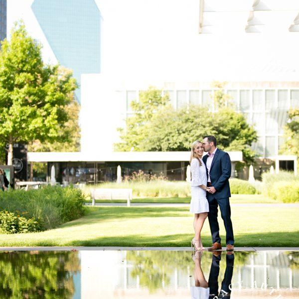 Caroline & Rob - Engagement Session at Winspear & Highland Park