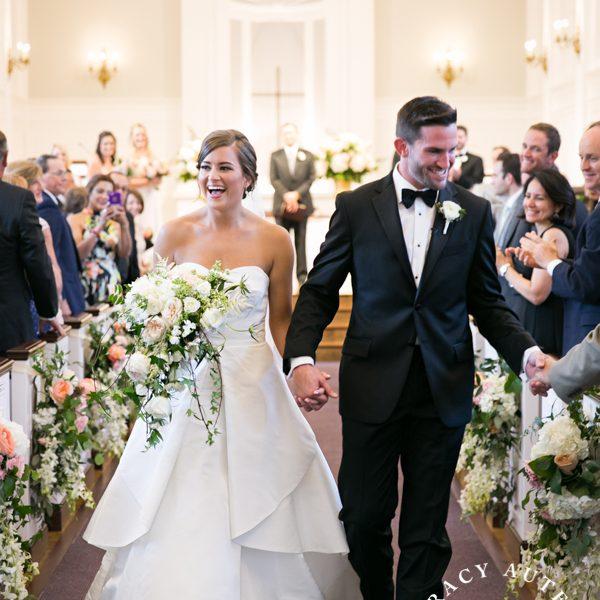 Allison & Michael - Wedding Ceremony at Robert Carr Chapel