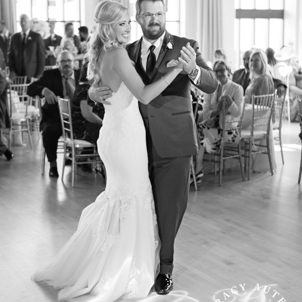 Ashley & Josh - Wedding Reception at McDavid Studio in Bass Hall