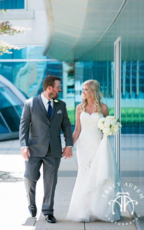 Ashley & Josh - Wedding First Look & Prep at Omni Hotel