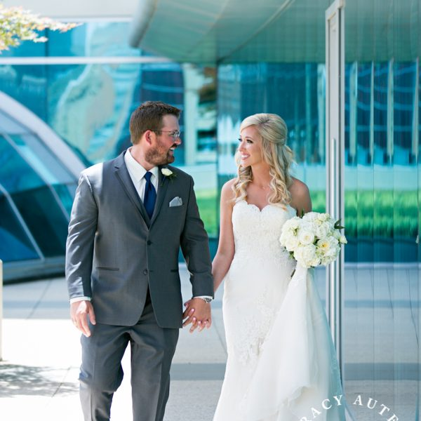 Ashley & Josh - Wedding First Look & Prep at Omni Hotel
