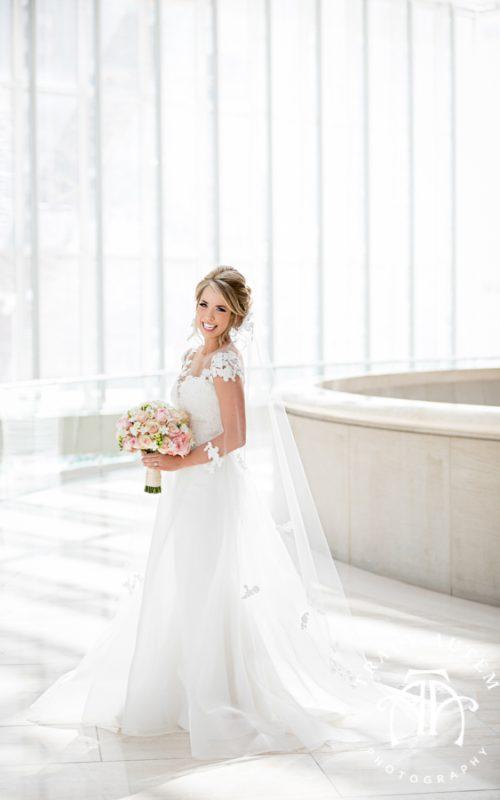 Callie - Bridal Portrait at Meyerson Symphony Center