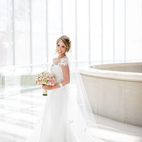 Callie - Bridal Portrait at Meyerson Symphony Center