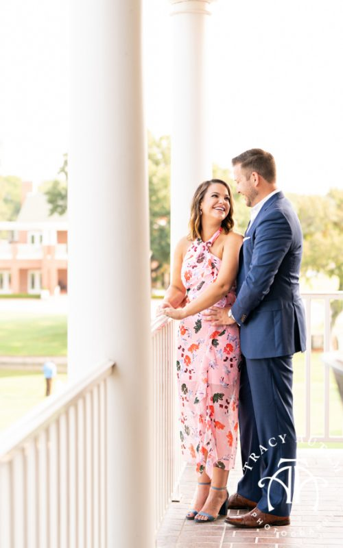 Caroline & Max - Engagement Session at Colonial Country Club