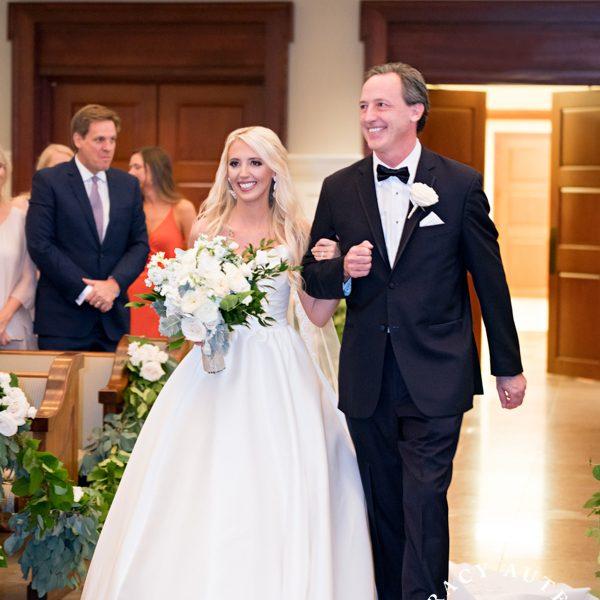 Hayley & David - Wedding Ceremony at Prestonwood Baptist Church Chapel