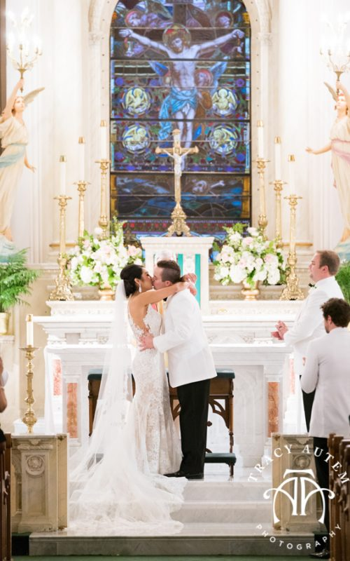 Alexandra & Zane - Wedding Ceremony at St Patricks Cathedral
