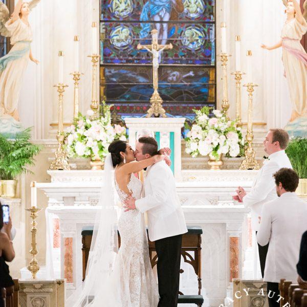 Alexandra & Zane - Wedding Ceremony at St Patricks Cathedral