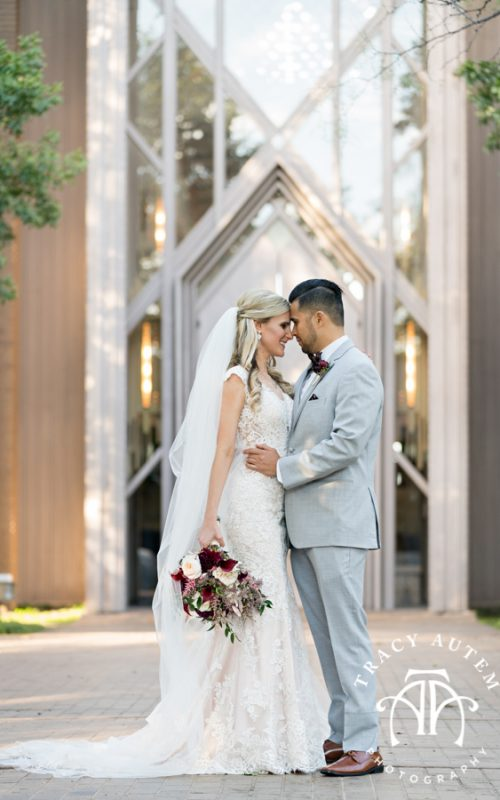 Ashlea & Mark - Wedding Ceremony at Marty Leonard Chapel