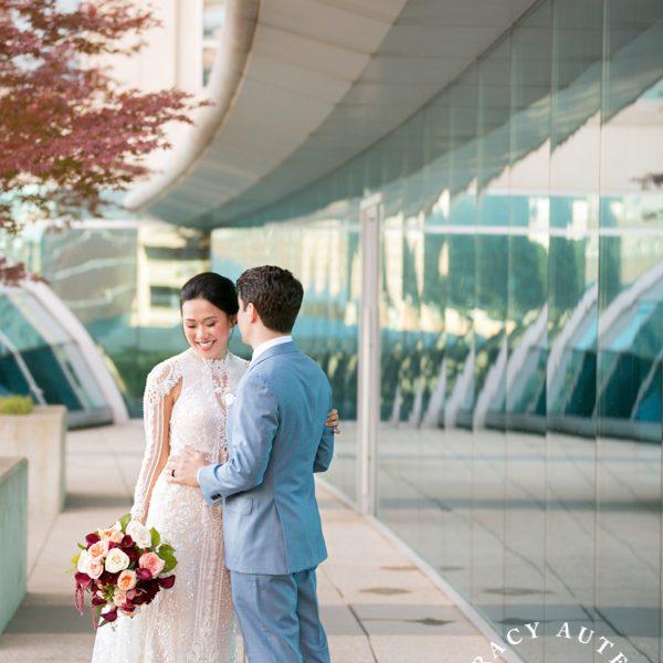 Tran & Adam - Wedding Prep & First Look at Omni Hotel