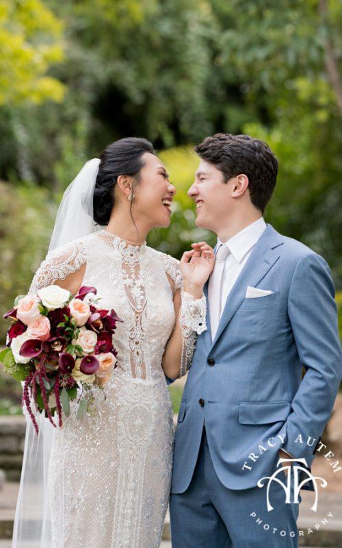 Tran & Adam - Wedding Ceremony at Botanic Gardens