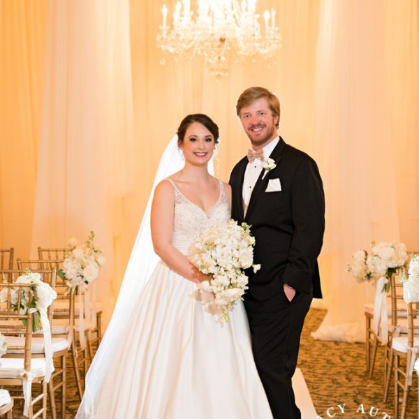 Amy & Casey - Wedding Ceremony at Fort Worth Club