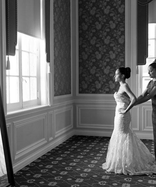 Cherrell & Alan - Wedding Preperations at Fort Worth Club