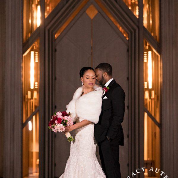 Cherrell & Alan - Wedding Ceremony at Marty Leonard Chapel