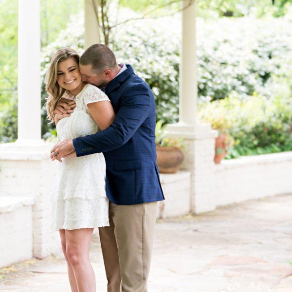 Aly & Travis - Engagement Portraits at Chandor Gardens