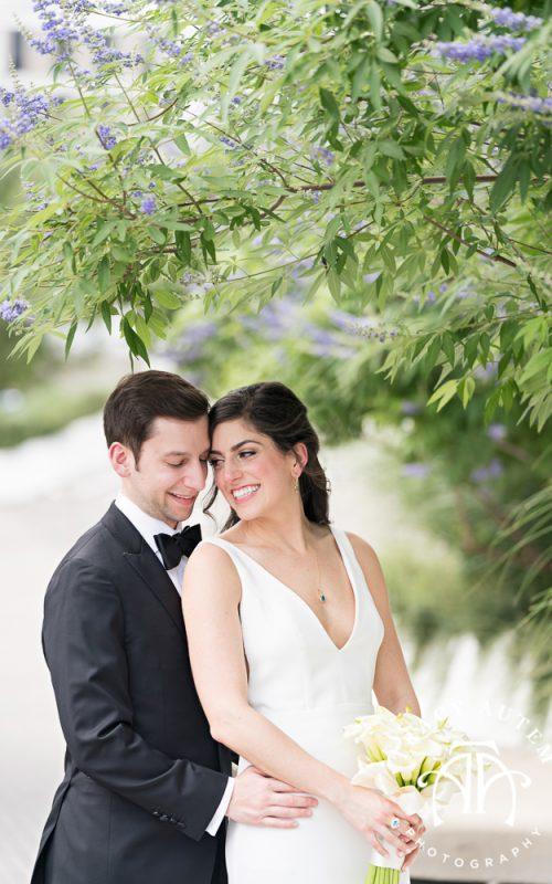 Sara & Brock - Wedding Portraits in Downtown Dallas