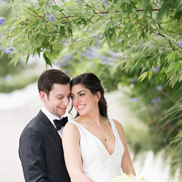 Sara & Brock - Wedding Portraits in Downtown Dallas