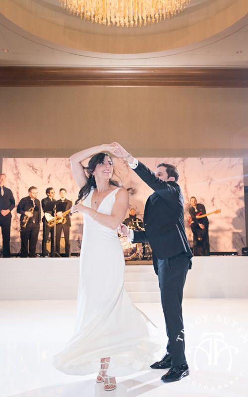 Sara & Brock - Wedding Reception at Omni Hotel