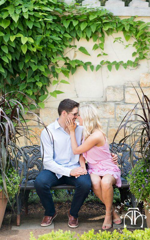 Kathryn & John - Engagement  Portraits at the Dallas Arboretum