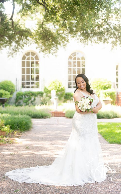 Summer - Bridal Portrait at Woman's Club of Fort Worth